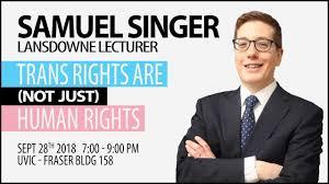 Samuel Singer - Lansdowne Speaker - YouTube