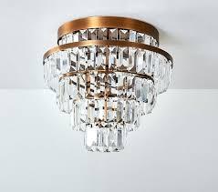 rectangular flush mount chandelier rectangle crystal drop rectangular flush mount lighting rectangular flush mount crystal chandelier