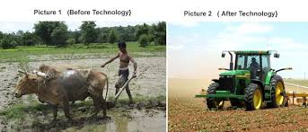 uses of technology in our daily life use of technology animal plowing i s replaced by tractors