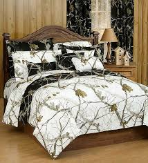 ap black and white camo bed set twin size camouflage comforter sham set