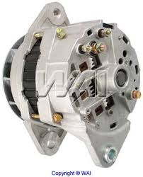nations heavy duty truck alternator starter 70 amp 24 volt 1 wire system neg