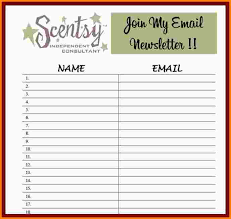 emailing list template sign up list template email sign up sheet template jpg aiyin