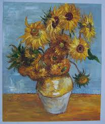 vangogh flower the sunflowers 1