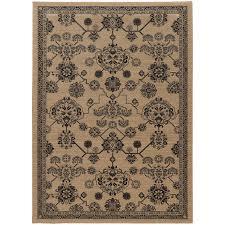oriental weavers foundry 4923w beige grey area rug