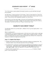 Book Report Poster Template Research Report Template Middle School Wiini Co