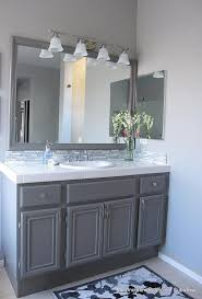 Backsplash Bathroom Ideas Enchanting 48 Perfect Grey Bathroom Vanity Backsplash Ideas Bathroom Ideas