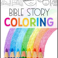 Click on the coloring page to open in a new window and print. Bible Coloring Pages Christian Preschool Printables