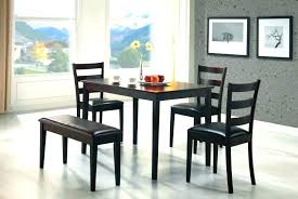 dining table and chairs compact dining table sets dining table and chair set perfect for an apartment or small dining room this five piece bench dining set