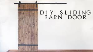 Sliding Barn Doors Diy Modern Sliding Barn Door Modern Builds Ep 43 Youtube