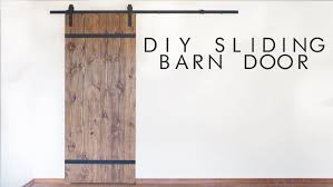 Diy Sliding Barn Door Diy Modern Sliding Barn Door Modern Builds Ep 43 Youtube
