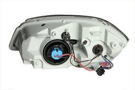 Amazon.com: Anzo USA 121154 Chevrolet Cobalt Black Headlight ...