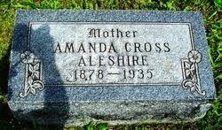 Amanda Cross Aleshire (1878-1935) - Find A Grave Memorial
