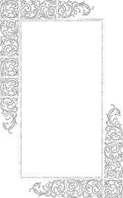fancy frame border transparent. Download Free Vector Art \u2013 Fancy Vintage Borders 1 Frame Border Transparent