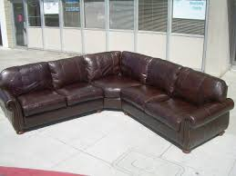 thomasville leather sectional. Perfect Leather SOLD  Thomasville Leather Sectional Sofa 2400 To S