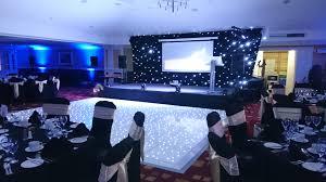 hilton avisford dancefloor stage backdrop and lighting ion lizard audio ltd equipment hire