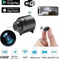 Camera mini siêu nhỏ X5 giám sát từ xa qua WiFI quay đêm