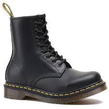 doc martens women ankle boots cowskin leather winter warm waterproof round toe square heel fashion uni rubber winter warm boots winter boots for women