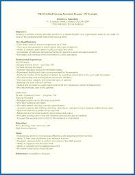 Objective For Resume For Experienced New Nurse Resume No Experience ...