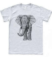 Elephant Shirt Design Navajo Elephant Print T Shirt Tumblr Aztec Hipster Tee Retro Pattern Topfunny Free Shipping Casual Tee