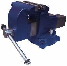 Capri Tools 10519 Rotating Base And Head Bench Vise 6Hydraulic Bench Vise