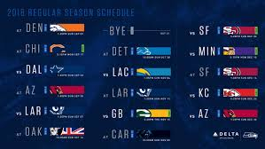 Seattle Seahawks 2018 Schedule Announced Includes Five