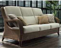 Kenya Outdoor Wicker Sofa Contemporary Patio Chicago by Home