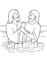 Saint john the baptist was a human of the jewish faith that lived on earth between the 1st century bc and the 1st century ad. John The Baptist Illustration Jesus Coloring Pages Lds Coloring Pages Bible Coloring Pages