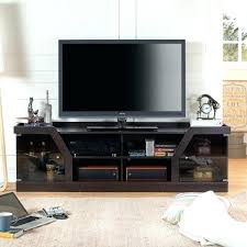 fireplace tv stand with soundbar contemporary the gray barn espresso pacer 72 s