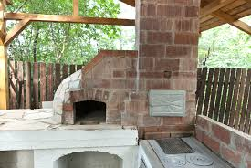 buidling a wood fired pizza oven