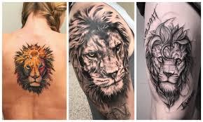 татуировка лев значение для мужчин и женщин Tattooassist