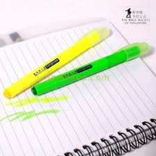 society of singapore ordered a gel highlighter in source ec printing corporate slogan on the penholder can easily makes people remember the message