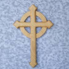 celtic pointed cross cross aiguise pointed passion cross signsofspirit on artfire