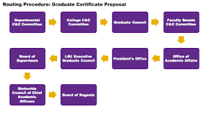 Lsu Feti Certification Chart Guidelines For Establishing A New Graduate Certificate
