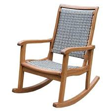 stupendous outdoor interiors resin wicker and eucalyptus rocking chair furniture ukraine chairs t90