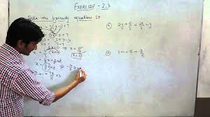 exercise 2 3 questions 6 7 8 9 10 ncert solutions for class 8th maths linear equations you