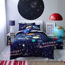 extra long twin size galaxy bedding 3d galaxy blue space