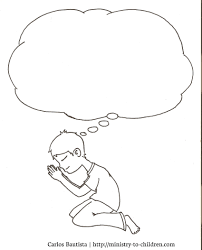 prayer coloring pages free 002