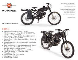 survival motoped