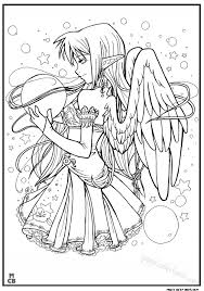 685x975 anime coloring pages free magic color book 14