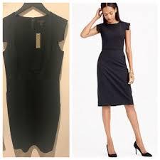 J Crew Dresses Resume Dress Black Sz 40 Poshmark Mesmerizing J Crew Resume Dress