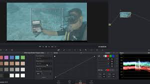 Color Grading Using A Color Chart For Underwater Video