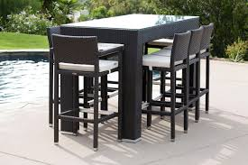 Outdoor Bar Table And Stools Patio Design Outdoor Bar Table And