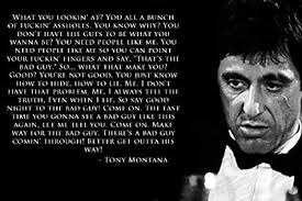 Scarface Quotes Amazing Amazon Tomorrow Sunny Scarface Al Pacino Tony Montana Quotes
