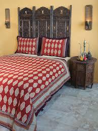 moroccan indian king duvet cover red orange cotton king duvet cover bohemian duvet cover saffron marigold