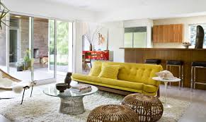 Image White Yellow View In Gallery This Minimalist Living Room Decoist Yellow Sofa Sunshine Piece For Your Living Room