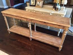 Diy Rustic Sofa Table Solid Wood Sofa Table Entryway Buffet Built Modern Farmhouse Il