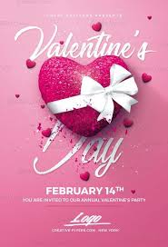 Valentines Flyers Valentines Day Party Flyer