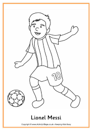 Small Picture Lionel Messi Resources for Kids