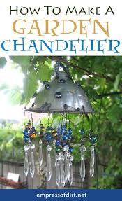 how to make a garden chandelier diy wind chimes to liven up your home
