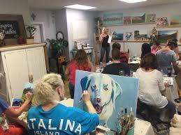 gypsy studios art class santa ynez valley beginner painting watercolor class solvang
